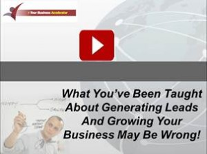 Your business accelerator detail video